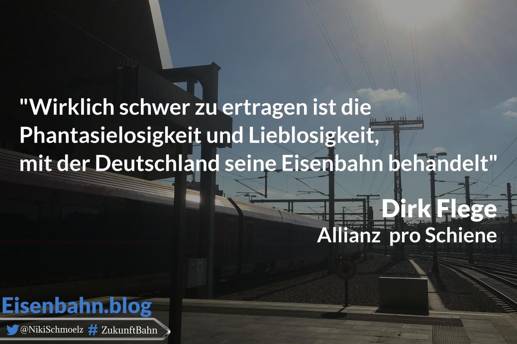 Zitat Dirk Flege für Bahner im Gespräch