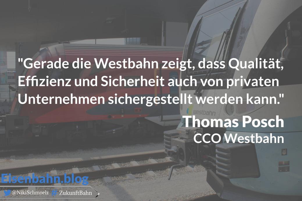 Zitat Thomas Posch für Bahner im Gespräch