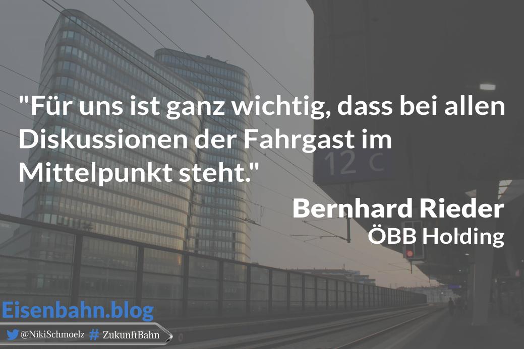 Zitat Bernhard Rieder, ÖBB, für Bahner im Gespräch