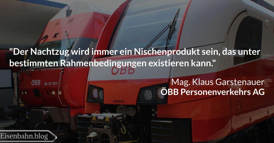 Zitat von Klaus Garstenauer für Bahner im Gespräch Teil 2