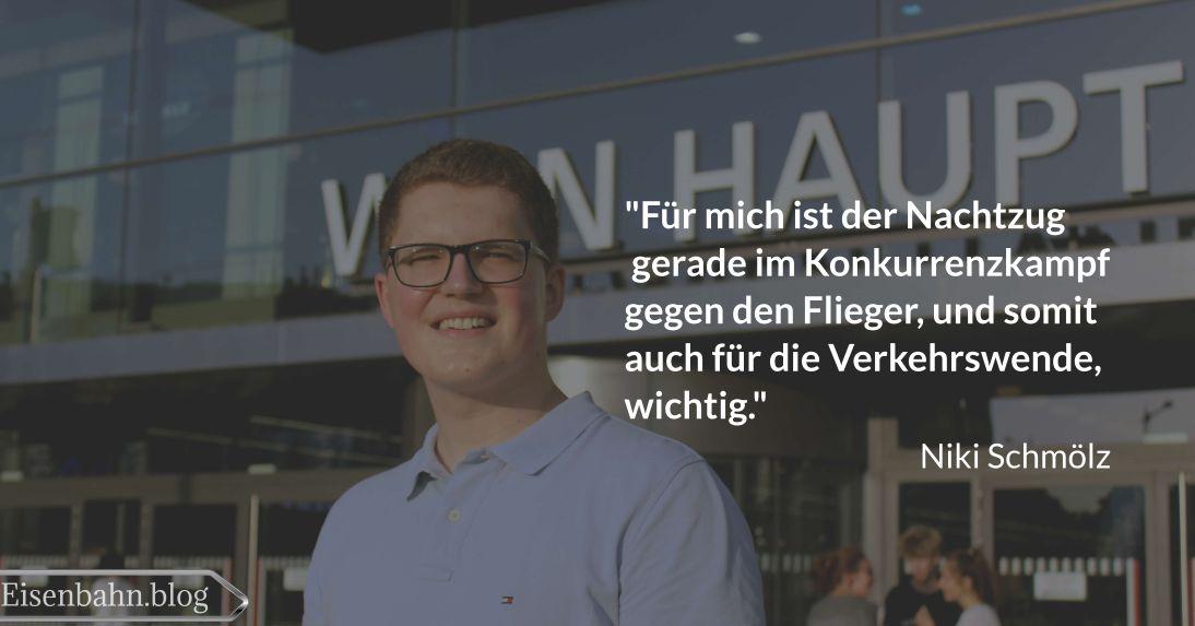 Zitat von Niki Schmölz für Bahner im Gespräch Teil 2