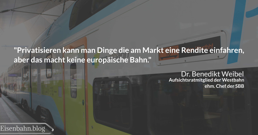 Bahner im Gespräch Teil 3 Benedikt Weibel